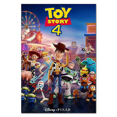 Toy Story 4 Movie Poster  - Promotional Art - High Quality Prints