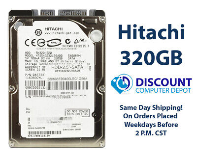 "320GB 2.5"" HDD Laptop Hard Drive MAJOR BRAND WD Seagate Hitachi  Internal SATA"
