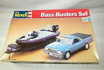 Revell Bass Busters Set 1:25 Scale New Open Box