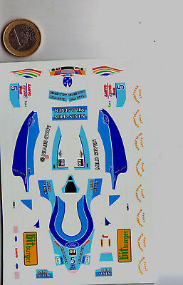 decals decalcomanie deco f1 benetton grand prix japon 1/43