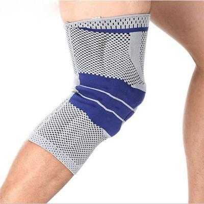 Knee Sleeve Gel Pad Foot Support Brace Arthritis Stabilizers Protector Wrap ONE