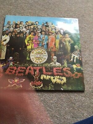 The Beatles Sgt Peppers Lonely Hearts Club Band Vinyl (3rd Pressing With Insert)