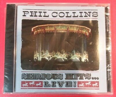 """SERIOUS HITS... LIVE! by PHIL COLLINS (CD, 1990 - USA - Atlantic) """"BRAND NEW"""""""