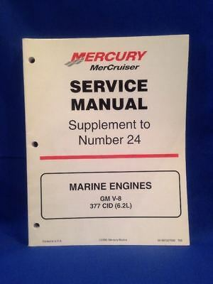MERCURY MERCRUISER MARINE Engines GM V8 377 CID (6 2L) 2000