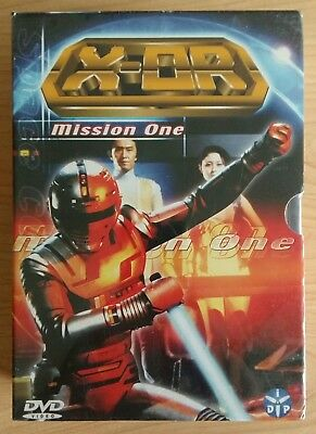 Coffret DVD X-OR Mission One Volumes 1 à 4 neuf sous blister