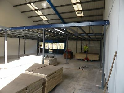 Used Mezzanine Floors Made To Your Specification From £30 Per Sq Metre