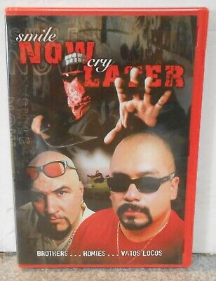 Smile Now Cry Later (DVD, 2008) RARE CRIME ACTION BRAND NEW