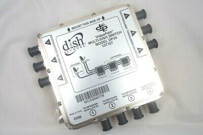 Dish DP34 Satellite Multiswitch 3X4 DP 34 Multi Switch 3 in 4 output Videopath