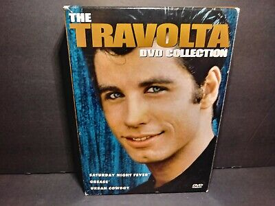 The Travolta Collection (DVD, 2002, 3-Disc Set) Saturday Night,Urban,Grease B248