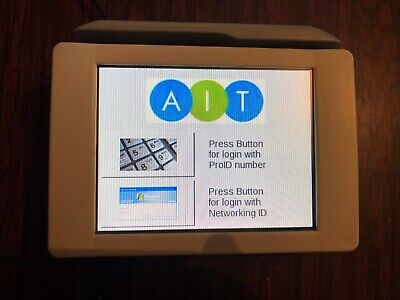 XPR-Enterprise Touchpad Gateway Screen