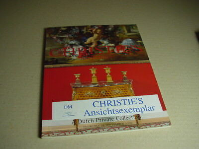 CHRISTIE`S Amsterdam Auktionskatalog A Dutch Private Collection 28.9. 2000.