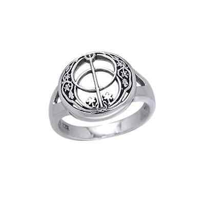 Calice Well .925 Anello Argento Sterling By Peter Stone Gioielli