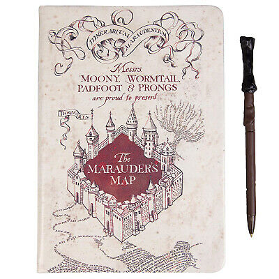 Harry Potter Marauder's Map Journal And Pen Set  NEW IN STOCK