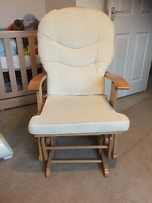 Cream Nursing Rocking Chair