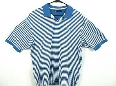 Oxford Golf mens size XL Marriotts Grand Chatteau short sleeve polo shirt blue