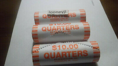2019 Quarter Roll Lowell National Park NF String & Sons
