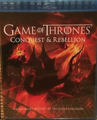 Game of Thrones - Conquest and Rebellion [Blu-ray] Exclusive Extra Disc!!