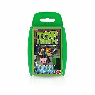 Minecraft TOP TRUMPS Card Games Brand New Free P&P