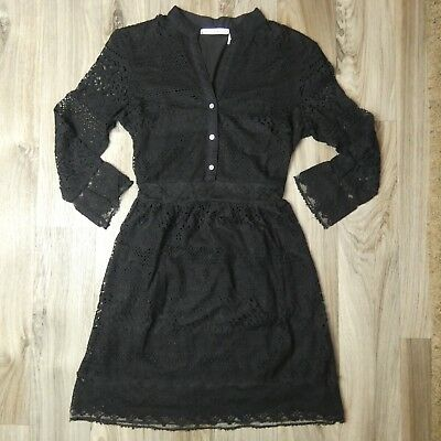 a1db1ea8 Women's Chelsea & Violet Casual Black Lace Long Sleeve Dress - Size Small