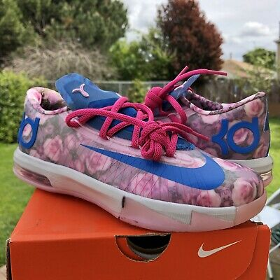 sports shoes 63c73 46bd3 Brand New Nike KD Kevin Durant Aunt Pearl VI 6 4 4Y Grade School Kids shoes