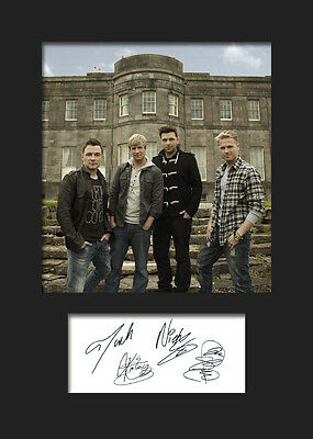 WESTLIFE #3 Signed Photo Print A5 Mounted Photo Print - FREE DELIVERY