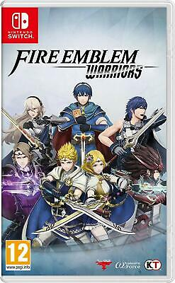 Nintendo Switch Fire Emblem Warriors Video Game- Brand New FACTORY SEALED!