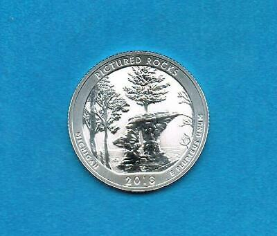 2018 S Silver Reverse Proof Quarter Pictured Rock