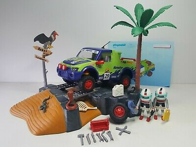 Dificil Todoterreno Dakar Playmobil 4421 Rally Safari Desierto Dunas Carrera