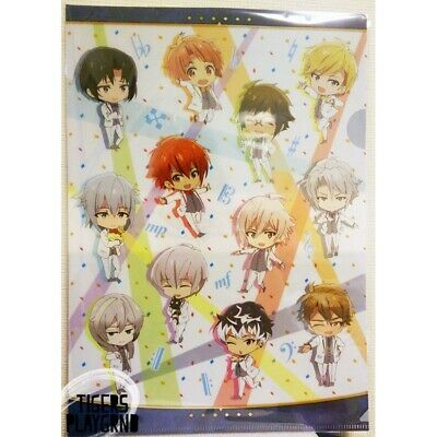 IDOLiSH7, TRIGGER & Re:vale Chibi Clear File (Sky Tree Village) revale i7 ainana