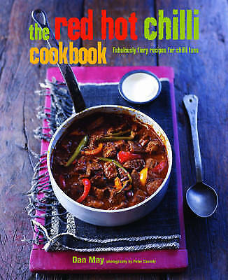 The Red Hot Chilli Cookbook, May, Dan, Very Good Book
