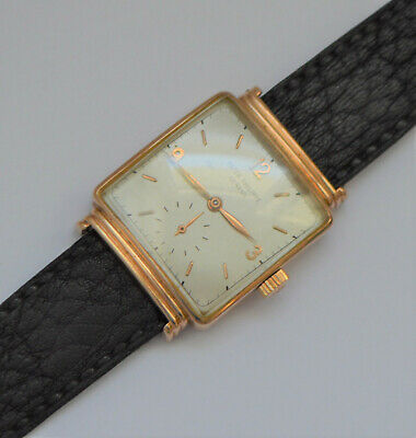Patek Philippe 1575 Vintage Forties Men`s 18K Solid Gold Watch cal.10-200 Rare