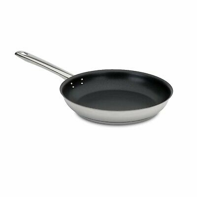 Silampos Profissional 2000 Stainless Steel Non-Stick Conical Frying Pan 10""