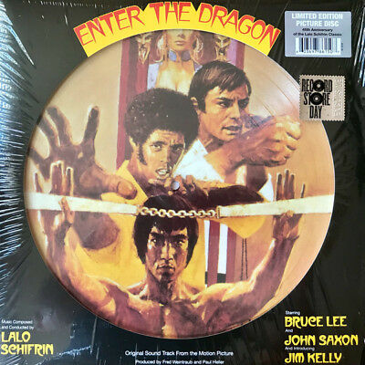 Lalo Schifrin Enter The Dragon Ost Limited Picture Disc Rsd 2018 Sealed R1 2727