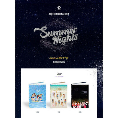 TWICE  [SUMMER NIGHTS] 2ND SPECIAL CD+BOOKLET+CARD (KpopStoreinUSA)