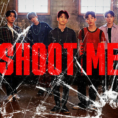 "DAY6 ""SHOOT ME""3RD MINI ALBUM + BOOKLET + PHOTOCARD (KpopStoreinUSA)"