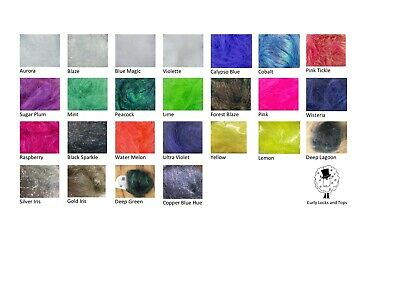 Angelina Fibre Heat Bondable/Craft/Fly Tying 6 x10g - Choose From 26 Colours
