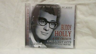 Buddy Holly & The Crickets Greatest Hits CD Best Of Legends Of Music 2008 cd7047