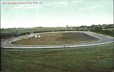 Fair Grounds and Race Track ~ York Pennsylvania PA ~ horse racing c1910