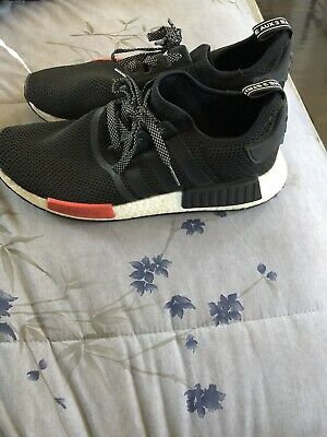 f683e21440d16 ADIDAS NMD R1 Black Red Footlocker Exclusive Size US 11 LIMITED EU EDITION
