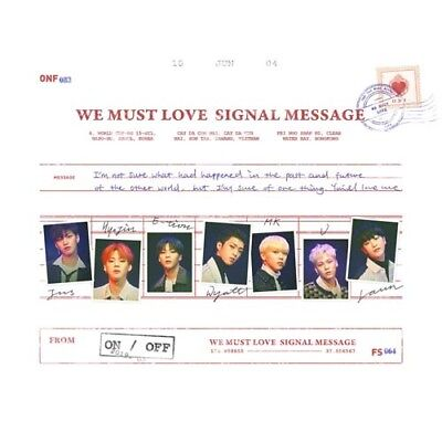 ONF - 3rd mini [ WE MUST LOVE ] (CD+BOOKLET+PHOTOCARD) (KpopStoreinUSA)
