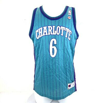 promo code a607b 75ff6 CHARLOTTE HORNETS VINTAGE 88-89 Size 32 NBA Player Shorts ...