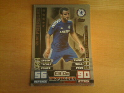 #001 cesc fábregas-bronce Limited Edition Match coronó 2014//15 Premier League