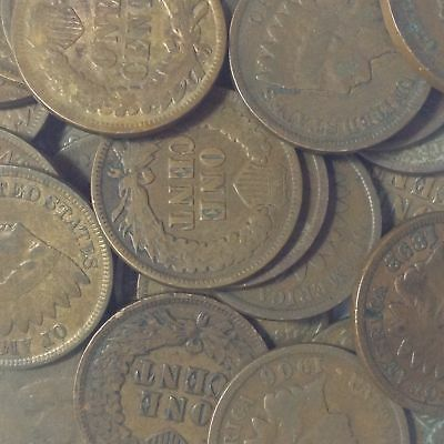 *10 Indian Pennies 1890,1891,1892,1893,1894,1895,1896,1897,1898,1899 &  Gift