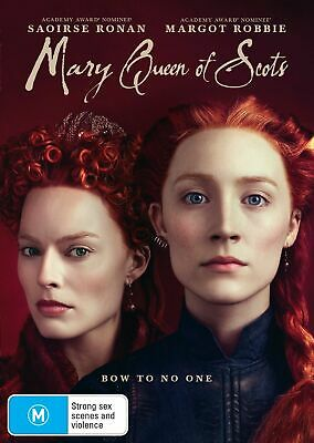 Mary Queen of Scots BRAND NEW Region 4 DVD 2019 IN STOCK NOW