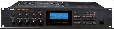 Roland E-660  Digital Equalizer (EQ) Mastering