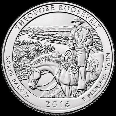 """ATB 2016 """"S"""" Theodore Roosevelt National Park """"BU"""" from original mint bags"""