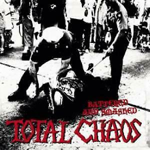 TOTAL CHAOS (US BAND) Battered And Smashed LP VINYL Europe Voltage 2015 12