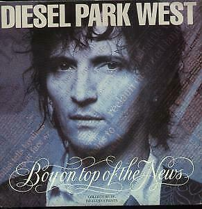 "DIESEL PARK WEST Boy On Top Of The News 10"" VINYL UK Food 1992 3 Track"