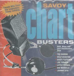 SAVOY CHART BUSTERS Various CD USA Savoy Jazz 2003 18 Track Compilation