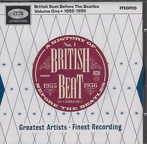 BRITISH BEAT BEFORE THE BEATLES VOLUME ONE 1955 1956 Various Artists CD Europe